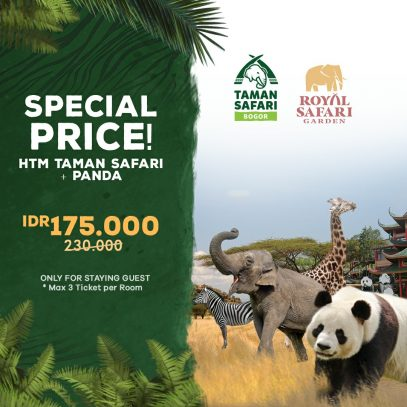 Royal Safari Garden Royal Safari Garden Hotel Puncak Indonesia