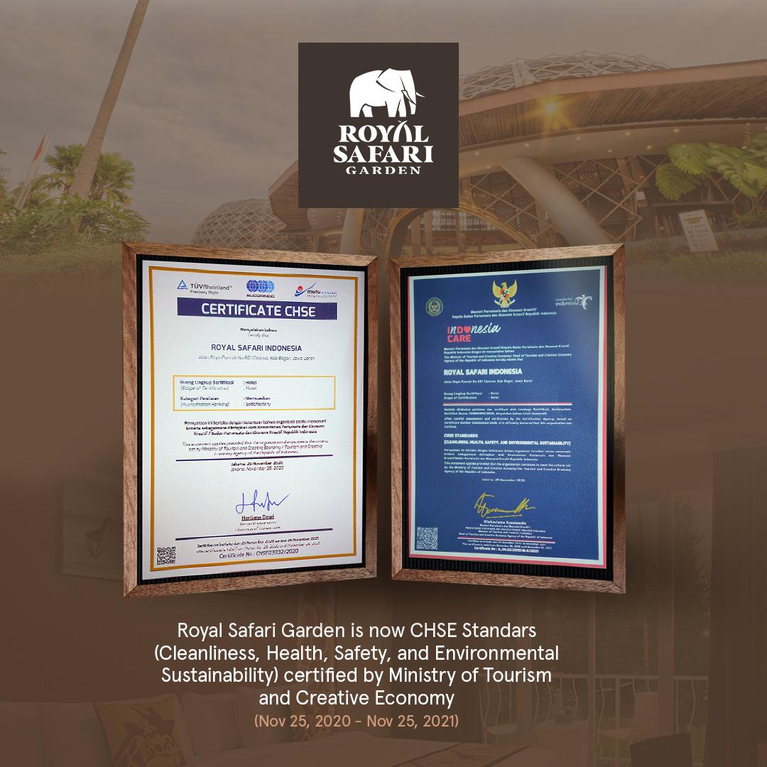 award CHSE 1